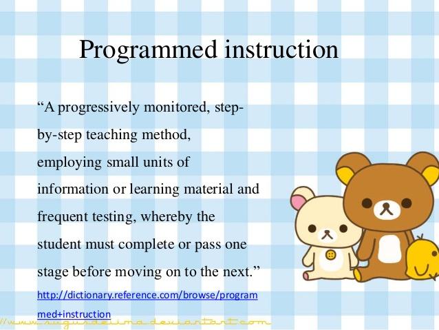 Programmed Instruction- A Research-based System   Dr  V K